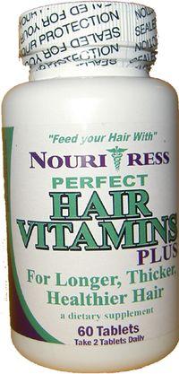 La receta para los cabellos con las vitaminas