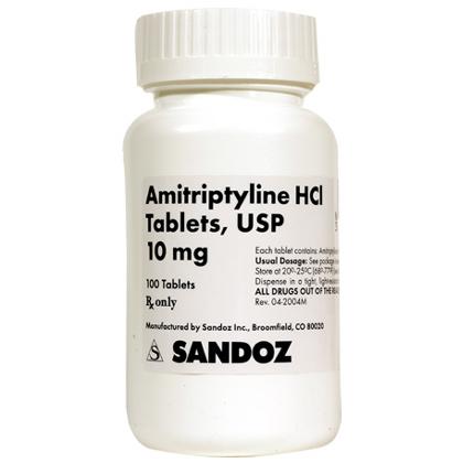 Amitriptyline For Nerve Pain 10mg