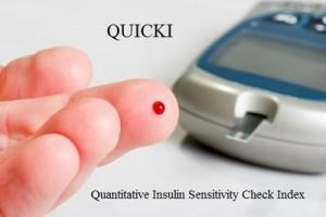 Quantitative Insulin Sensitivity Check Index (QUICKI)