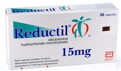 Efectos secundarios de Reductil