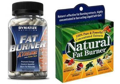 tipos de quemadores de grasa naturales