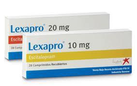 Efectos secundarios de Lexapro