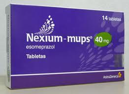 Efectos secundarios de Nexium (esomeprazol)