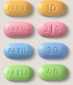 Efectos secundarios de Paxil