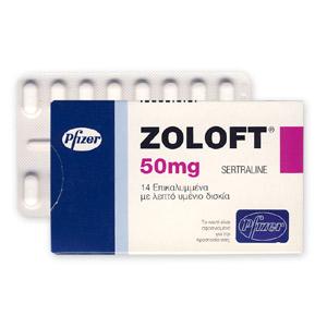 Efectos secundarios de Zoloft