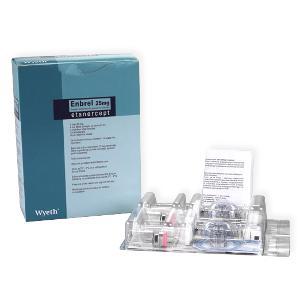 Efectos secundarios de Enbrel (etanercept)