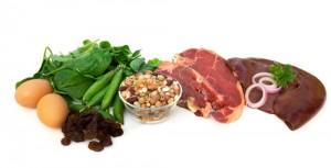 Alimentos ricos en hierro para anemia