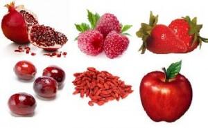 Frutas asociadas con la longevidad