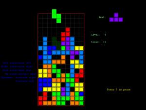 Tetris para problema visual en niños