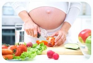 Diabetes gestacional por consumo de comida chatarra
