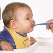 Que se le da de comer a un bebe de 6 meses