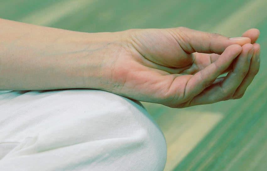 Un mudra es un gesto sagrado que se realiza con nuestras manos