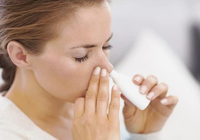 lavados nasales con solución salina