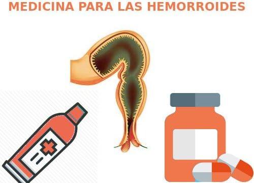 medicina para las hemorroides